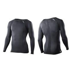 Mens Compression Long Sleeve Crew Neck Top