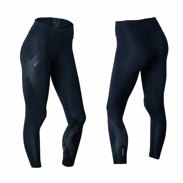 2XU Womens Mid-Rise Compression Tights