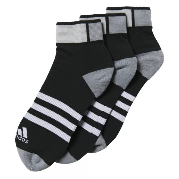 adidas 3-Pack Clima ID Cushioned Ankle Socks