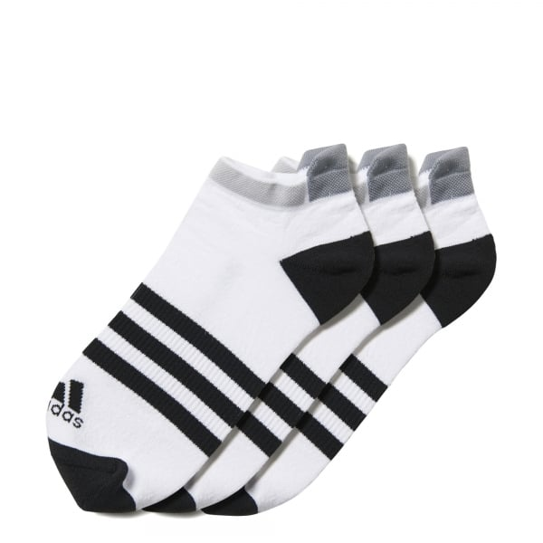 adidas 3-Pack Clima ID Cushioned No Show Socks