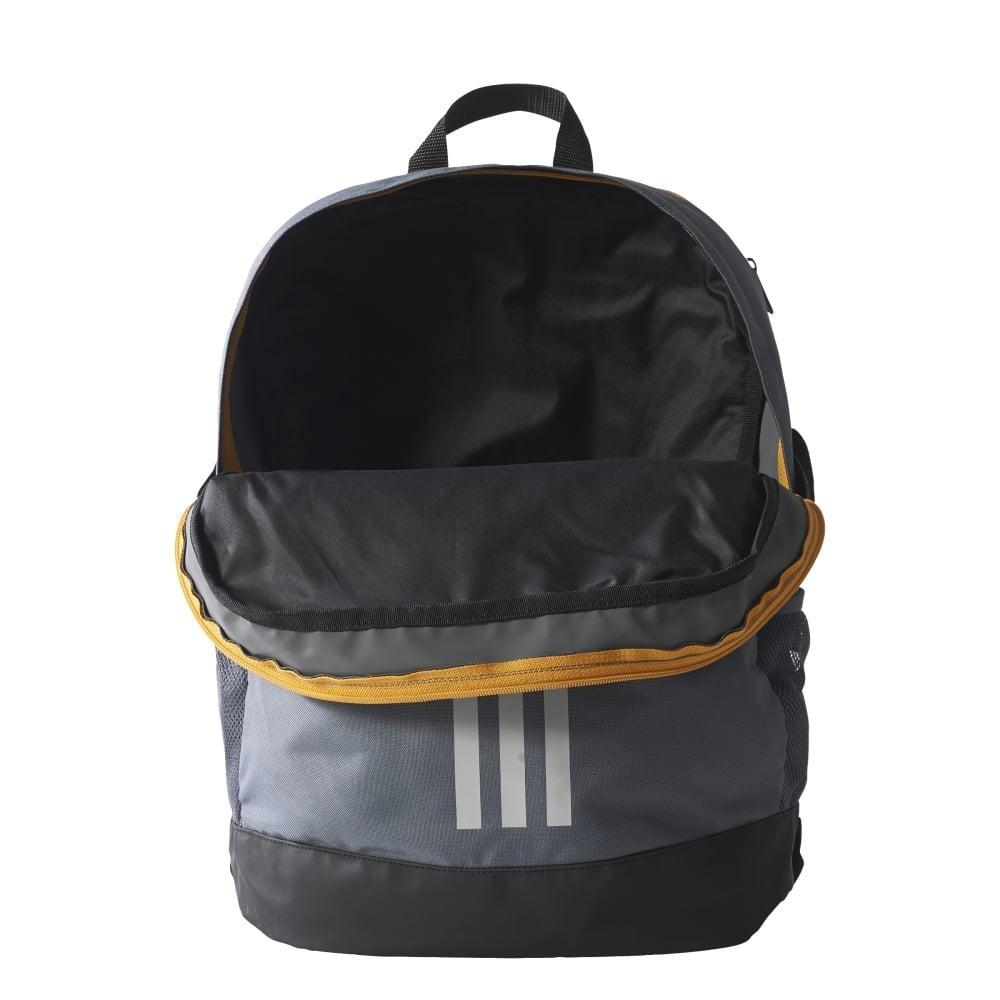 adidas 3-Stripes Power Backpack Medium in Grey  50c33d9362243