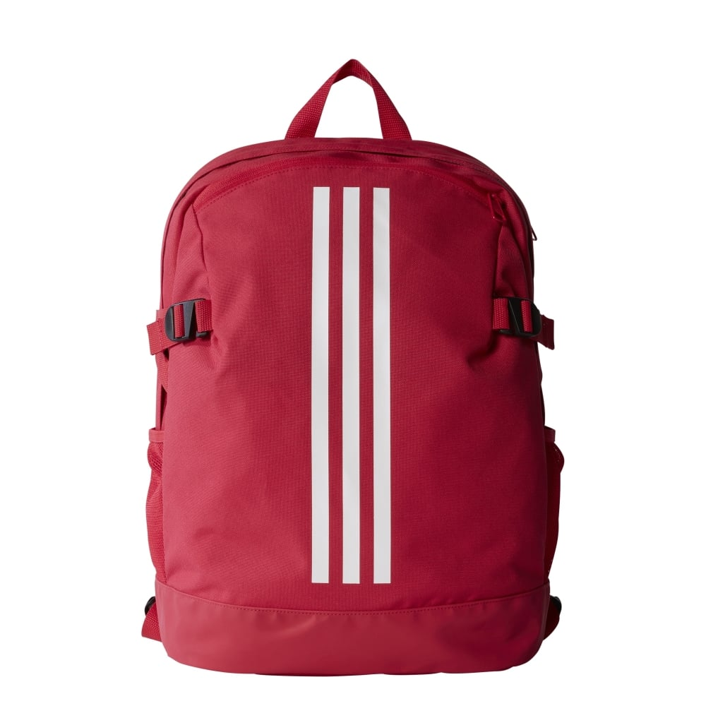 Adidas 3 Stripes Power Backpack Medium In Pink Excell