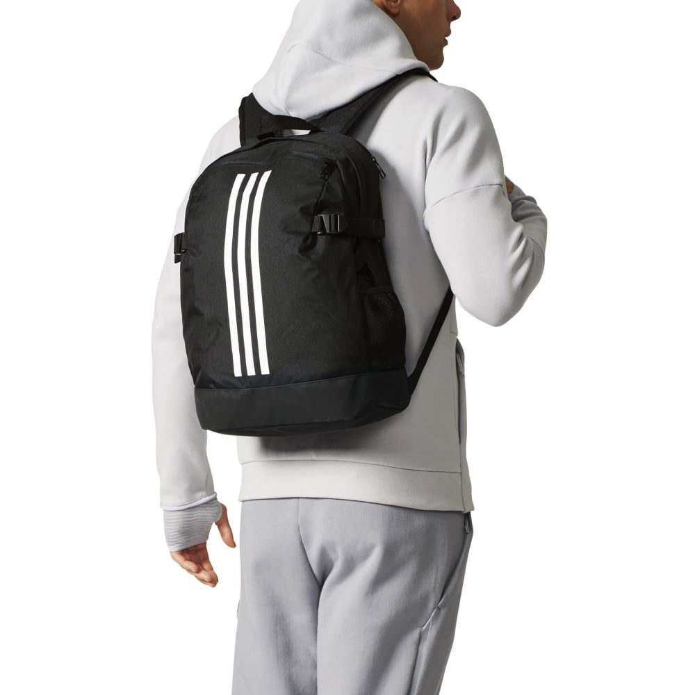 adidas 3-Stripes Power Backpack Medium in Black   Excell Sports UK 7266a49162