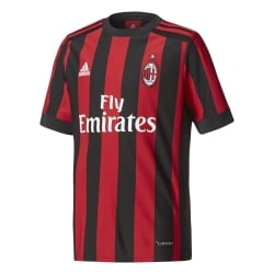AC Milan Home Junior Short Sleeve Jersey 2017/2018