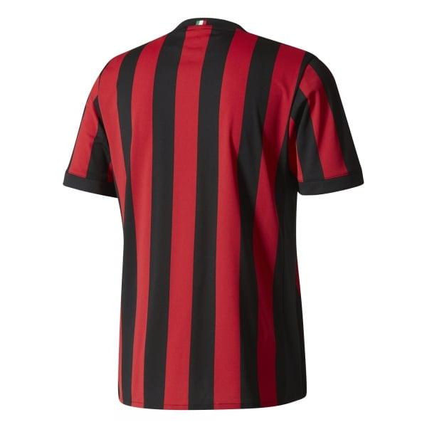 adidas AC Milan Home Mens Short Sleeve Jersey 2017/2018