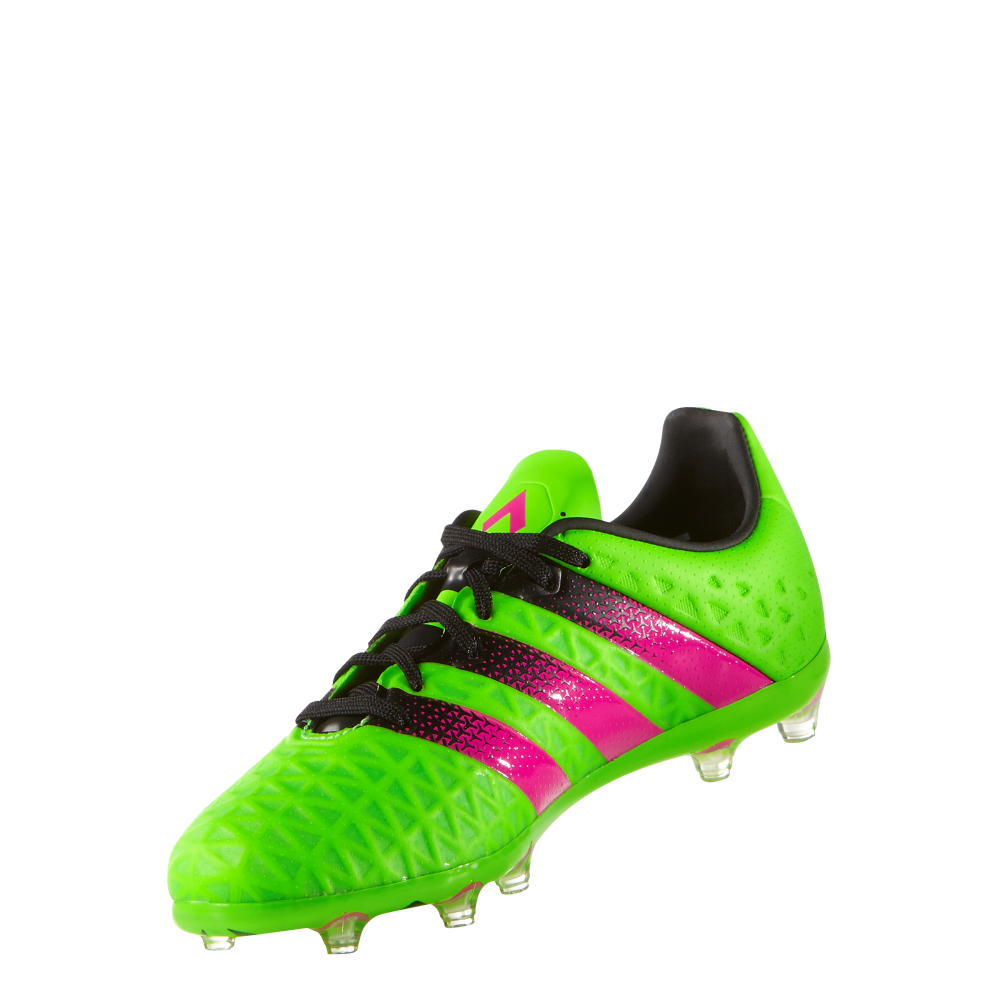 quality design 17d26 d830d adidas Ace 16.1 Junior FG/AG (sizes 3-5.5) in Green | Excell ...