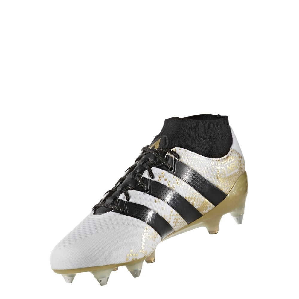 adidas ace 16 1 primeknit sg in white excell sports uk. Black Bedroom Furniture Sets. Home Design Ideas
