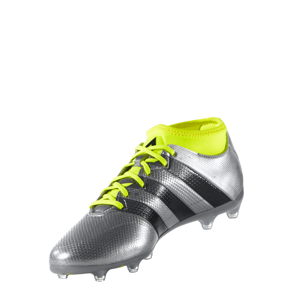 new concept 1a12e 99177 adidas Ace 16.2 Primemesh FG/AG in Silver | Excell Sports UK