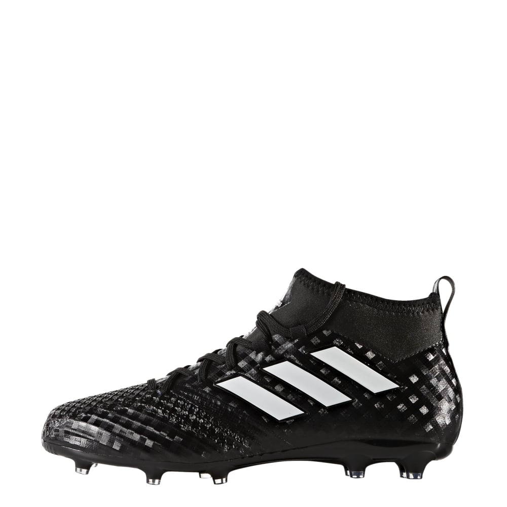 big sale 5f33e ead9c adidas ACE 17.1 Junior Primeknit FG in Black | Excell Sports UK