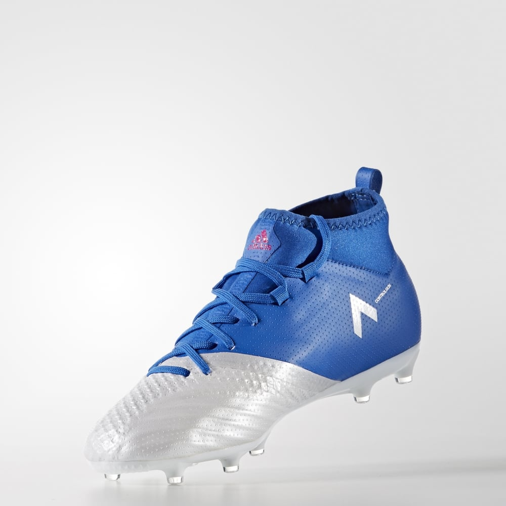 official photos 77397 19cb2 adidas ACE 17.1 Junior Primeknit FG in Blue   Excell Sports UK