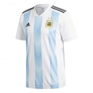 Argentina Home Mens Short Sleeve Jersey 2018