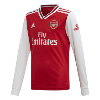 Arsenal Home Junior Long Sleeve Jersey 2019/2020