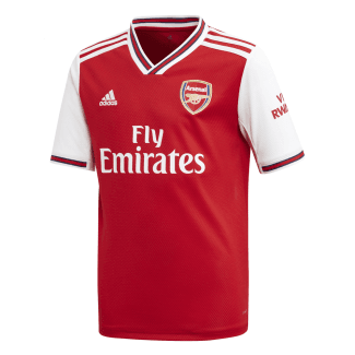Arsenal Home Junior Short Sleeve Jersey 2019/2020