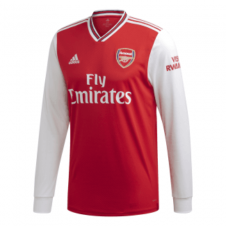 Arsenal Home Mens Long Sleeve Jersey 2019/2020