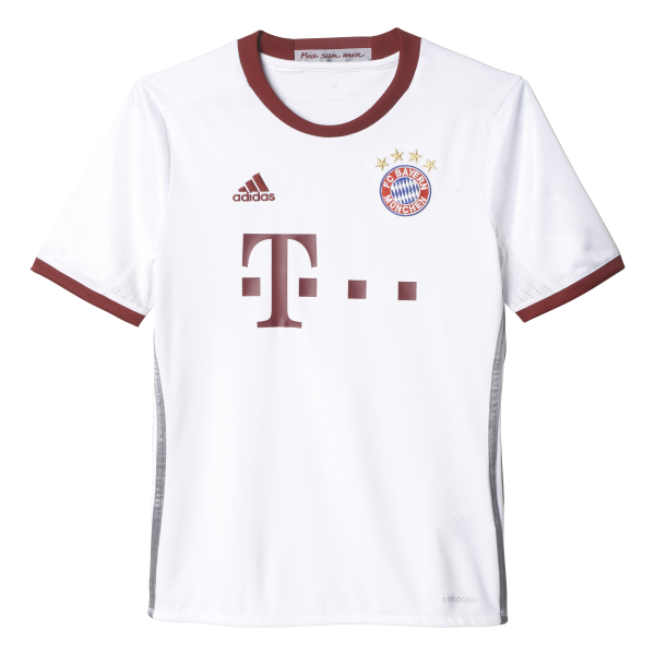 adidas Bayern Munich 3rd Junior Short Sleeve Jersey 2016/2017