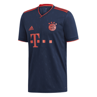 Bayern Munich 3rd Mens Short Sleeve Jersey 2019/2020