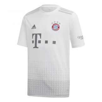 Bayern Munich Away Junior Short Sleeve Jersey 2019/2020