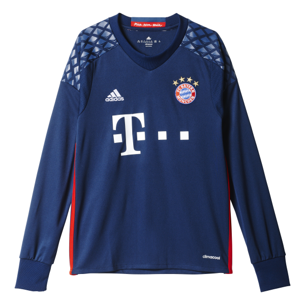 Adidas Bayern Munich Goalkeeper Long Sleeve Jersey 2016/2017