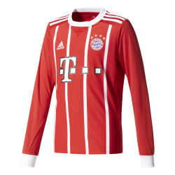 Bayern Munich Home Junior Long Sleeve Jersey 2016/2017