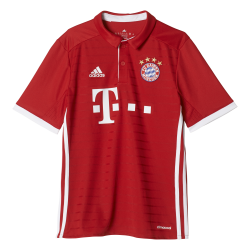 Bayern Munich Home Junior Short Sleeve Jersey 2016/2017