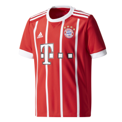 Bayern Munich Home Junior Short Sleeve Jersey 2017/2018