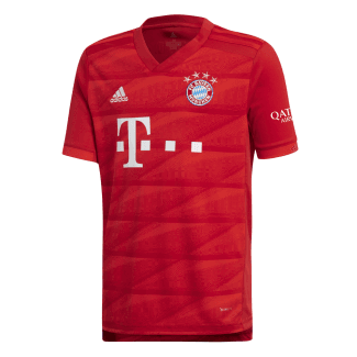 Bayern Munich Home Junior Short Sleeve Jersey 2019/2020