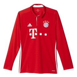 Bayern Munich Home Mens Long Sleeve Jersey 2016/2017
