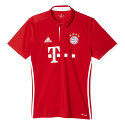 Bayern Munich Home Mens Short Sleeve Jersey 2016/2017