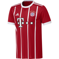 Bayern Munich Home Mens Short Sleeve Jersey 2017/2018