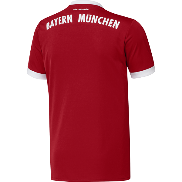 adidas Bayern Munich Home Mens Short Sleeve Jersey 2017/2018