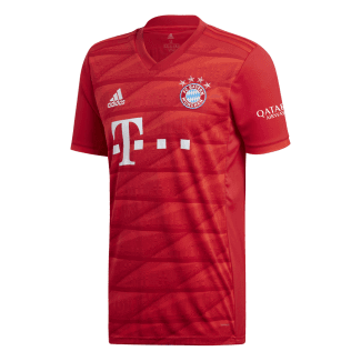 Bayern Munich Home Mens Short Sleeve Jersey 2019/2020
