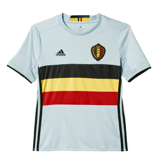 Belgium Away Junior Short Sleeve Jersey 2016