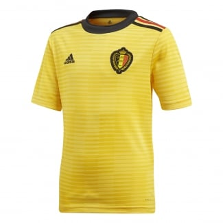 Belgium Away Junior Short Sleeve Jersey 2018
