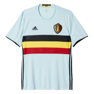 Belgium Away Mens Short Sleeve Jersey 2016