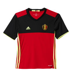 Belgium Home Junior Short Sleeve Jersey 2016