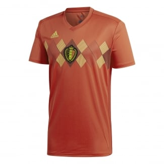 Belgium Home Mens Short Sleeve Jersey 2018