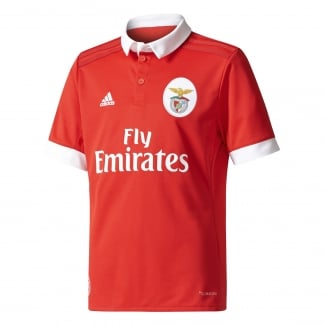Benfica Home Junior Short Sleeve Jersey 2017/2018