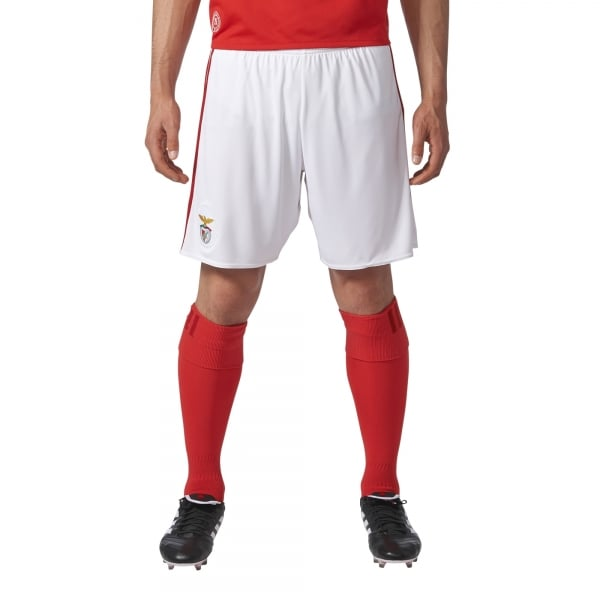 adidas Benfica Home Mens Short 2017/2018