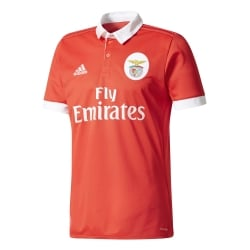 Benfica Home Mens Short Sleeve Jersey 2017/2018