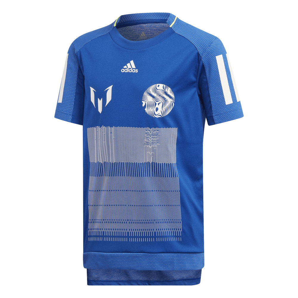 new styles aa3f3 d79a8 Adidas Boys Messi Icon Jersey - Adidas from Excell Sports UK