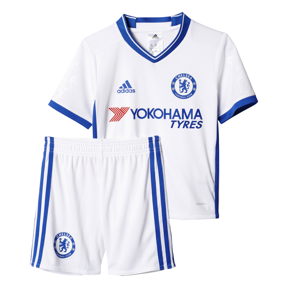best sneakers defc7 8b53d Adidas Chelsea 3rd Mini-Kit 2016/2017