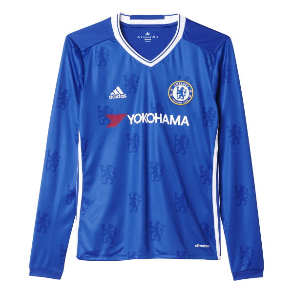 adidas Chelsea Home Junior Long Sleeve Jersey 2016/2017
