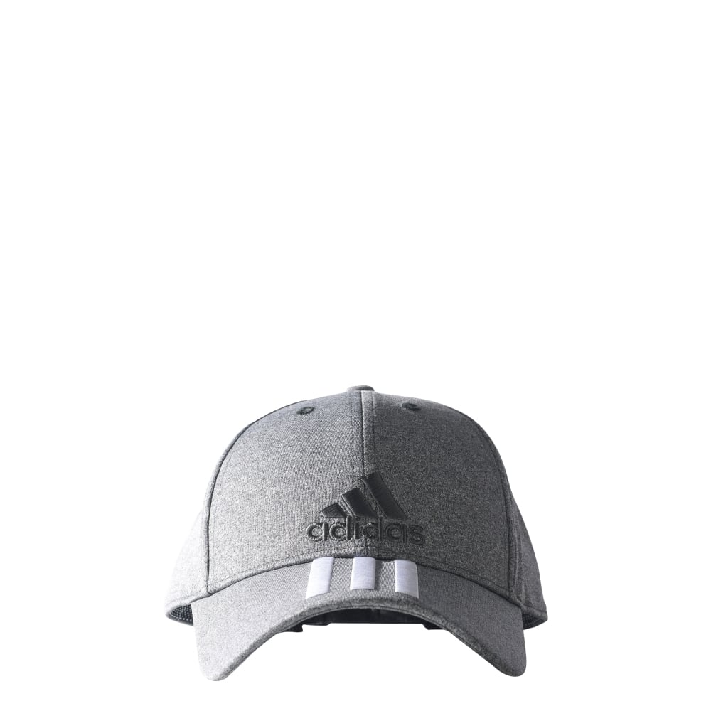 adidas Classic 3-Stripes Cap in Grey  c1435297bb9