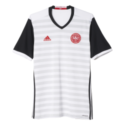 Denmark Away Mens Short Sleeve Jersey 2016