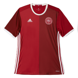 Denmark Home Mens Short Sleeve Jersey 2016