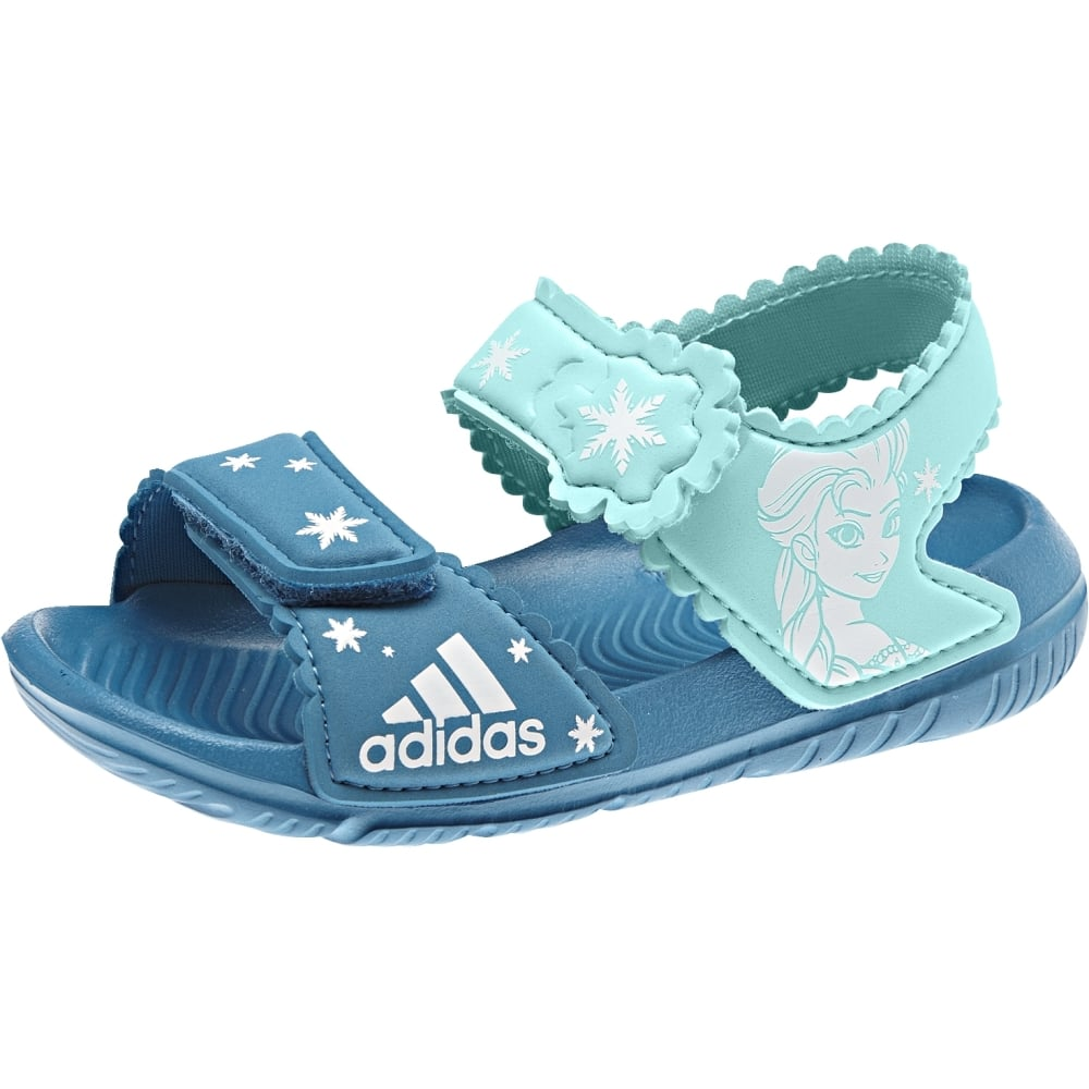 1d27e9500160 adidas Disney Frozen AltaSwim Infant Sandals in Petrol