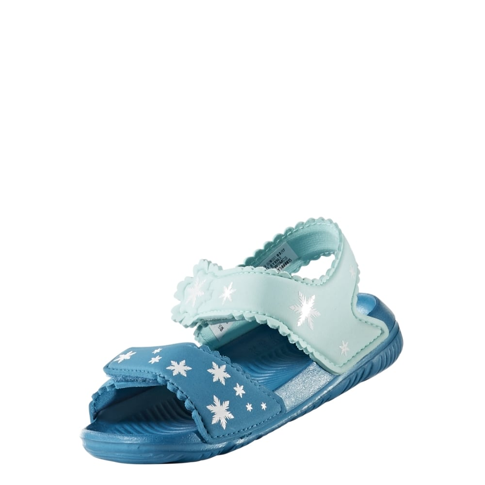 80cdb172ae7e94 adidas Disney Frozen AltaSwim Infant Sandals in Petrol