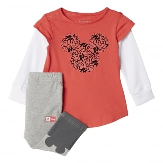 Disney Mickey Mouse Girls Jogger Set