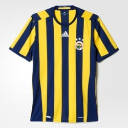 Fenerbahce Home Mens Short Sleeve Jersey 2016/2017
