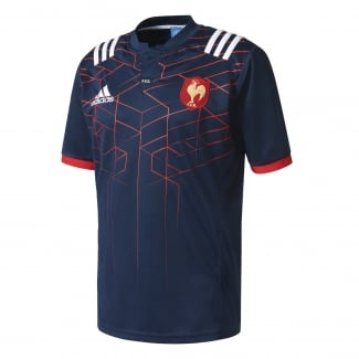 France Home Rugby Jersey